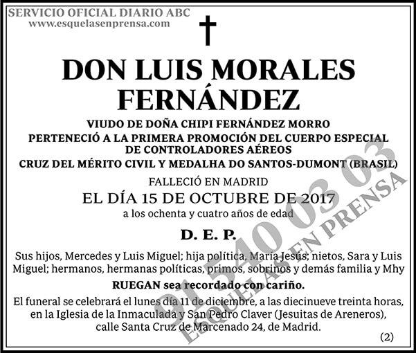 Luis Morales Fernández